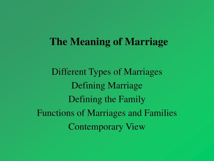 differing types and consequences of marriage This is the type of marriage where couples argue and experience conflict on a routine basis the spouses often nag, complain, criticize, belittle, and bring up past events the result is tension.