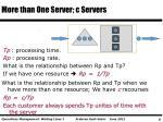 more than one server c servers