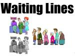 polling lower waiting time longer processing time perhaps