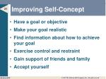 improving self concept