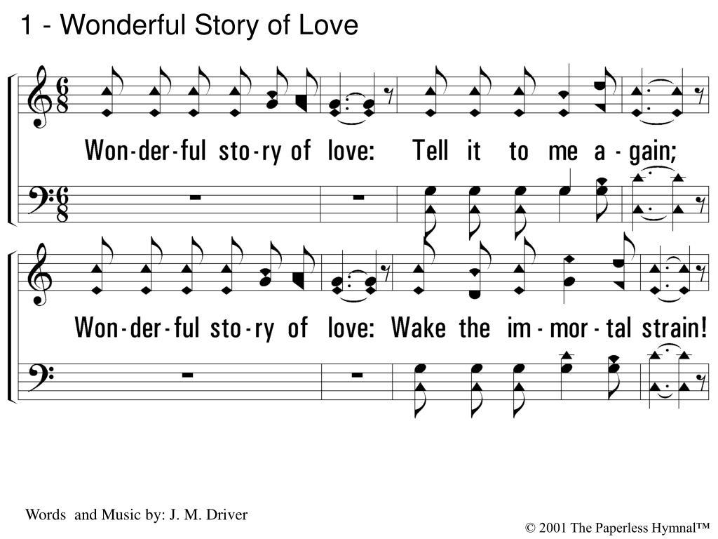 1 wonderful story of love l.