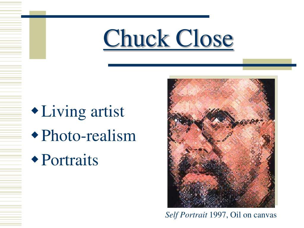 chuck close l.