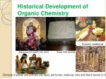 historical development of organic chemistry