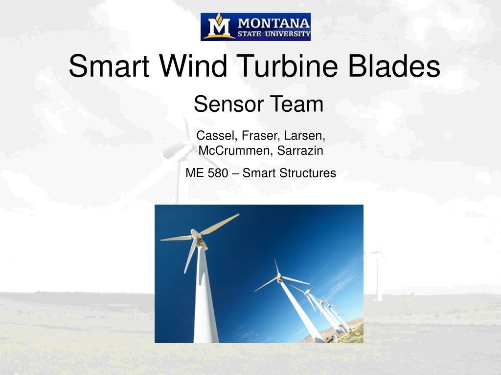 smart wind turbine blades l.