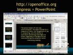 http openoffice org impress powerpoint