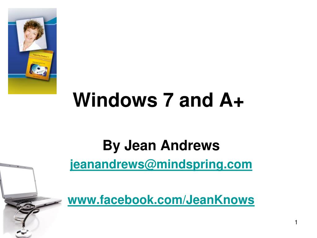 windows 7 and a l.
