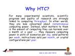 why htc