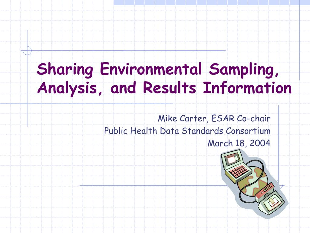 sharing environmental sampling analysis and results information l.