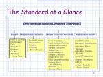 the standard at a glance