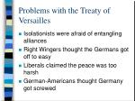 problems with the treaty of versailles4