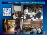 south african reserve bank college