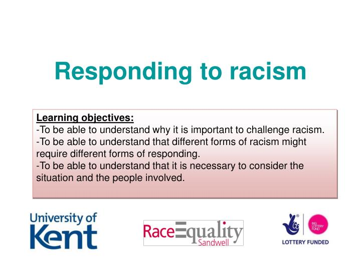 responding to racism n.