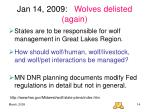 jan 14 2009 wolves delisted again