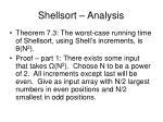shellsort analysis1