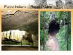 paleo indians russell cave