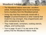 woodland indians art