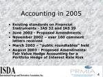 accounting in 2005