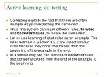 active learning co testing