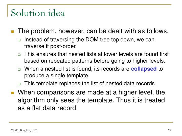 Solution idea