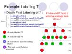 example labeling t