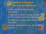 data evaluation recommendations