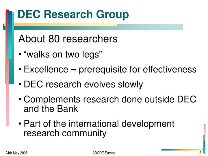 DEC Research Group