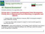 energy opportunities in1