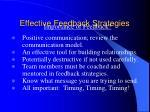 effective feedback strategies1