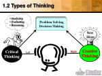 1 2 types of thinking