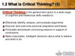 1 3 what is critical thinking 3