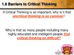 1 6 barriers to critical thinking