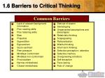 1 6 barriers to critical thinking1
