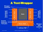 a test wrapper