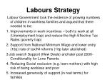 labours strategy
