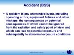 accident bss