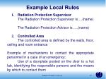 example local rules