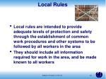 local rules1