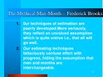 the mythical man month frederick brooks