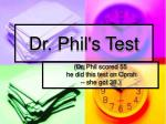 dr phil s test