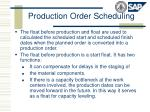 production order scheduling
