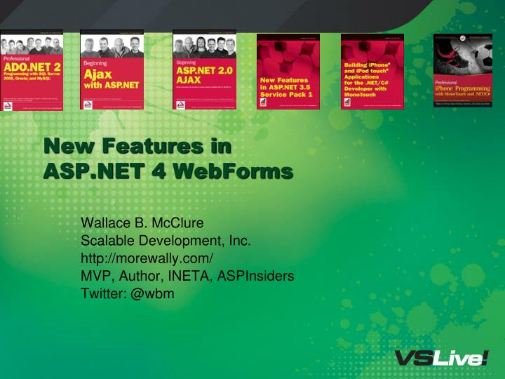 new features in asp net 4 webforms n.