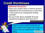 credit worthiness2