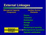 external linkages