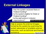 external linkages2