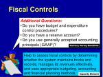 fiscal controls1
