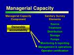 managerial capacity1