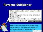 revenue sufficiency2