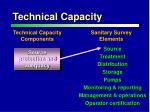 technical capacity1