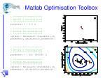 matlab optimisation toolbox