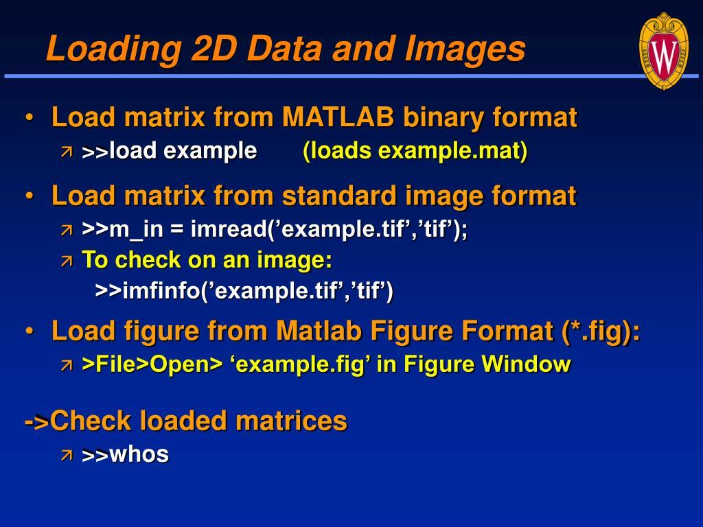 Matlab Mat Format